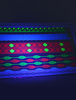 10/PCS Hot Sale Fluorescent Tattoo Handsome Multi-Style Temporary Tattoo For Fashion WST-176