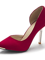 Women's Shoes Leatherette Stiletto Heel Heels Heels Outdoor / Dress / Casual Black / Blue / Red / White / Coral