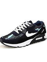 Men's Walking Shoes Fabric Black / Blue / Gray