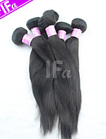 Peruvian Virgin Hair 5Pcs/Lot Straight Wholesale Unprocessed Human Hair Bundles Color 1B