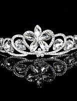 Korean  Brides Crystal Diamond Crown The New High-End Wedding Jewelry