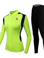 TINKOFF SAXO® Long Sleeve Spring / Summer / Autumn / Winter Cycling Suits TightsWaterproof / Breathable