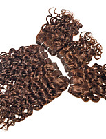 remy brasileño sueltos onda rizado extensiones de cabello 5 piezas 200g sin procesar / establecidos extensiones virginales del pelo humano