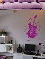 Música / De moda Pegatinas de pared Calcomanías de Aviones para Pared , PVC 34cm*55cm
