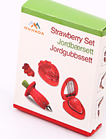 Strawberry  Take Governor Slicer Cutter Set