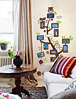 Botanical / Fashion Wall Stickers Plane Wall Stickers , PVC 60cm*90cm