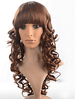 2015 Women Ombre Fashion Natural Wavy Janpanese Heat Resistant Synthetic Hair Wig M16094-#12 24