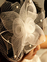 Lace Dot Hair Fascinators for Party Jewelry