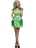 Performance Dresses Women's Performance Polyester Flower(s) 4 Pieces Light Green