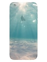 For iPhone X iPhone 8 iPhone 6 iPhone 6 Plus Case Cover Pattern Back Cover Case sky Scenery Soft TPU for iPhone X iPhone 8 Plus iPhone 8