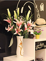 The Sitting Room Adornment Flower Art Polyester Lilies Artificial Flowers