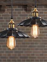 Retro Classic European Style Pendant Lights Dining Room Metal Art Droplight Give 40w Bulb Diameter 25CM