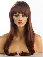 2015 Women Ombre Fashion Natural Wavy Janpanese Heat Resistant Synthetic Hair Wig M16271-#3123 28