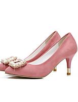 Women's Shoes Leatherette Stiletto Heel Heels Heels Outdoor / Casual Green / Pink / Red