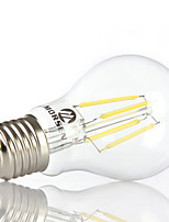 Decorative Globe Bulbs , E26/E27 4 W 4 COB 350-450LM LM Warm White / Cool White AC 100-240 V