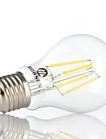 Decorativo Lampadine globo , E26/E27 4 W 4 COB 350-450LM LM Bianco caldo / Luce fredda AC 100-240 V