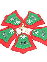 Ornements - Rouge - Noël  - en Textile
