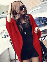 Women's Loose All Match Irregular Batwing Sleeve Cardigan
