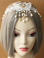 Celada Bandas de cabeza Boda Encaje Mujer Boda 1 Pieza