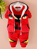 Boy's Cotton / Polyester Clothing Set , Winter Long Sleeve