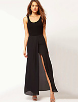 Women's Solid Skirts , Sexy Maxi