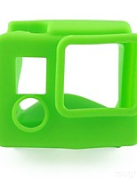 Soft Silicone Rubber Camera Housing Protective Case Cover Skin for Gopro Hero 3+Hero  (green)