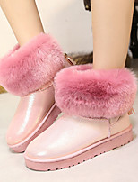 Women's Shoes Platform Snow Boots Boots Casual Black / Pink / White / Gray