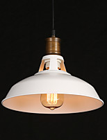 E27 28*18.5CM Led American Country Style Originality Single Head Wrought Iron Hollow Out Droplight Lamp