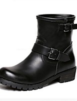Women's Shoes  Split Sole Fashion Boots Boots Casual Black / Blue / Brown