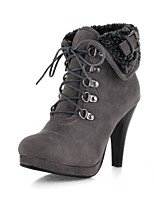 Women's Shoes Fall / Winter Heels / Platform / Riding Boots / Fashion Boots Boots Outdoor / Casual/10-6
