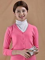 Fashion Women`s Solid Fabric Cotton Collar Decoration Cravat & Ascot Joker Daily/Casual