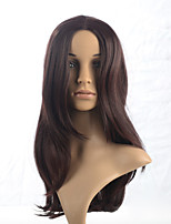 2015 Women Ombre Fashion Natural Wavy Brown Janpanese Heat Resistant Synthetic Long Hair Wig 3083-#33 20