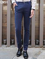 Men fall straight slim pants pants men's casual pants Korean tide