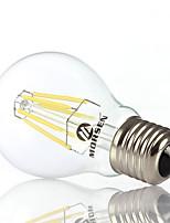 Decorativo Lampadine globo , E26/E27 8 W 6 COB 550-650LM LM Bianco caldo / Luce fredda AC 100-240 V
