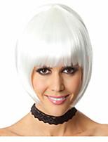 hot selge fabrikken engros hvit farge bobo hodet er Euramerican stil parykk hot stil