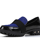 Women's Shoes Synthetic Chunky Heel Comfort Round Toe Loafers Party and Dress More Colors Available