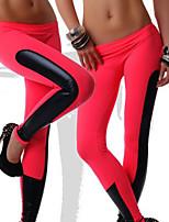 Otros ® Yoga Medias Transpirable / Secado rápido / Mantiene abrigado / Capilaridad / Compresión Alta elasticidad Ropa deportiva Yoga Mujer