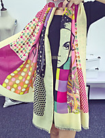 Women Cotton Scarf , Vintage / Casual