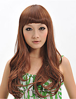 2015 Women Ombre Fashion Natural Wavy Janpanese Heat Resistant Synthetic Hair Wig XY021 26