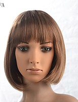2015 Women Ombre Fashion Natural Wavy Janpanese Heat Resistant Synthetic Hair Wig 16556-3-#6062 12