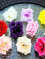 Soie / Plastique Roses Fleurs artificielles