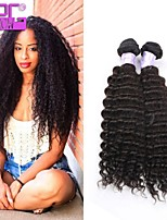 Hot Selling Kinky Curly Human Hair , RPG SHOW Virgin Peruvian Hair