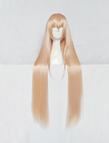 My Two-Faced Little Sister Umaru Doma Light Orange Long Cosplay Wig