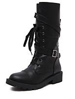 Women's Shoes Low Heel Comfort Boots Outdoor Black