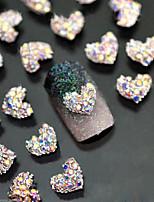 5pcs  Fine Love Metal Nail Jewelry