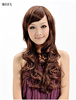 2015 Women Ombre Fashion Natural Wavy Janpanese Heat Resistant Synthetic Hair Wig XY018 26