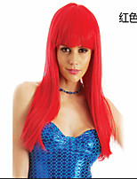 Top Quality Mixed colors Cosplay Wig Woman's Wigs Super Long Straight Animated Synthetic Hair Wigs Party Wigs