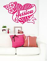 Animals / Fashion Wall Stickers Plane Wall Stickers , PVC 66m*44.5cm