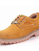 Men's Shoes Outdoor / Athletic / Casual Suede Oxfords Blue / Yellow