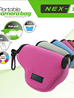 NEOpine Protective Soft Case Bag Pouch Perfect for Sony NEX5 NEX5T NEX5R NEX3N 16-50mm Lens